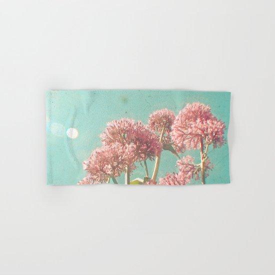 Pink Milkweed Hand & Bath Towel