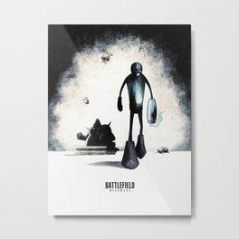 Battlefield - Megaman 2 Metal Print