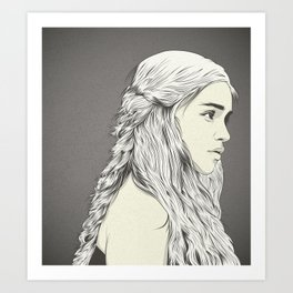 D T Art Print