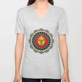Mandala Unisex V-Neck