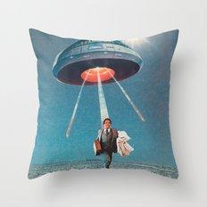 Space Juice Throw Pillow