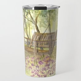 Bedrock Garden Spring on In and Out Pathway Travel Mug