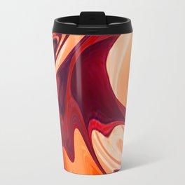 Abstract Fluid 1 Travel Mug