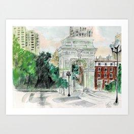 Summer Splendor Art Print