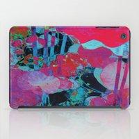 marx iPad Cases featuring Flora Celeste Agate Lotus  by Meteora