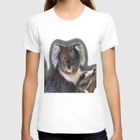 koala T-shirts featuring Koala by SwanniePhotoArt
