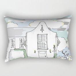 Rosemary Townhall Rectangular Pillow