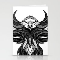 eagle Stationery Cards featuring Eagle by Andreas Preis