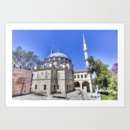Istanbul Mosque Art Print