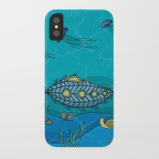 Nautilus under the sea iPhone X Slim Case