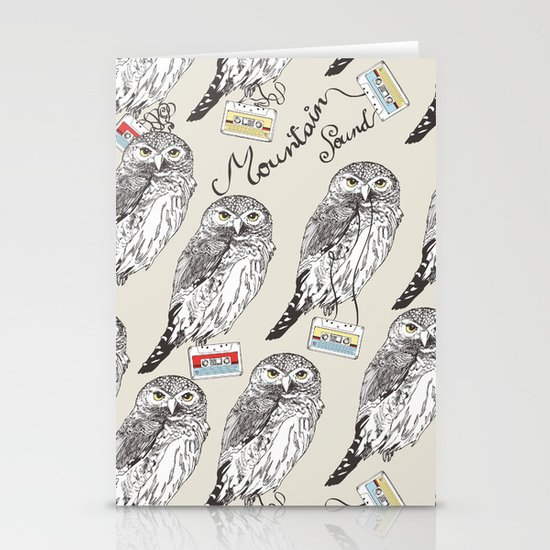 UP ALL NIGHT Stationery Cards