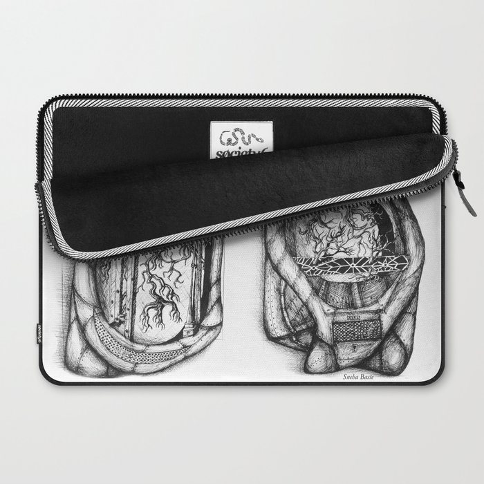 I am Human- Lungs Laptop Sleeve