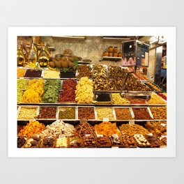 Fresh Market Art Print