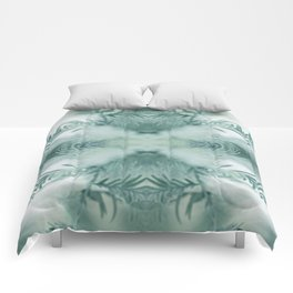 feathery leaves Comforters