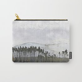 Loch,trees and mountains, Scottish Highlands Carry-All Pouch
