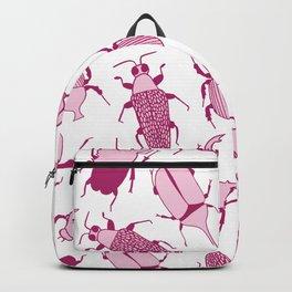 Pink Beetles Backpack