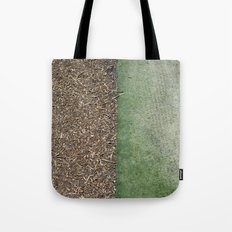 Grass and Mulch Tote Bag