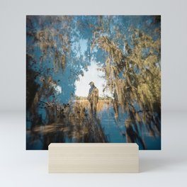 Silhouette in Bonaventure Cemetery - Savannah, Georgia Mini Art Print