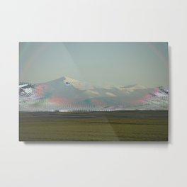 mountain vhs Metal Print