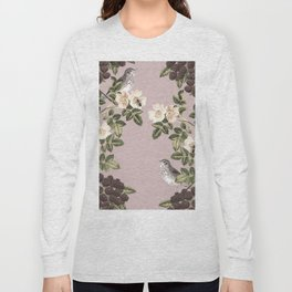 Birds and the Bees Pink Berry Long Sleeve T-shirt