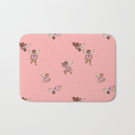Cupid Legion Pattern- Pink Bath Mat