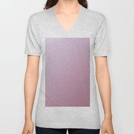 Pink gradient color Unisex V-Neck