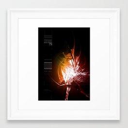 Binarygrowth 79 Framed Art Print
