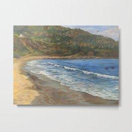 Torrance Beach to Palos Verdes Metal Print