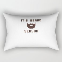 It's Beard Season Rectangular Pillow