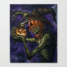 Hobnobbin' with a Goblin Canvas Print