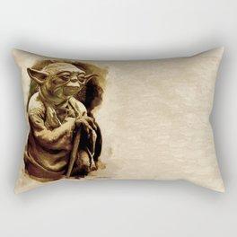 Grand Master Yoda Rectangular Pillow
