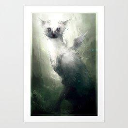 Trico (No Text) Art Print