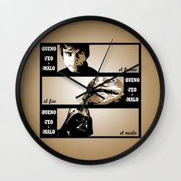 Il buono, il brutto, il cattivo Wall Clock