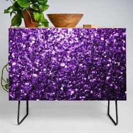 Beautiful Dark Purple glitter sparkles Credenza
