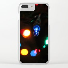 Blue Light Clear iPhone Case