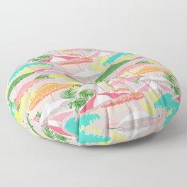 Palm Springs - poolside Floor Pillow