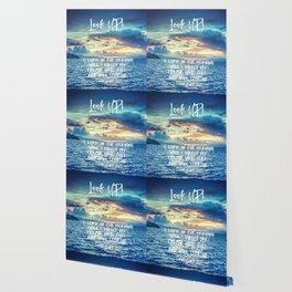 Ocean Sunrise Psalms Prayer Bible Verse Wallpaper