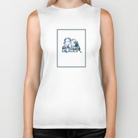 queer Biker Tanks featuring Queer by SeanAndOnAndOn