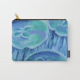Striated Jelly Moons Carry-All Pouch