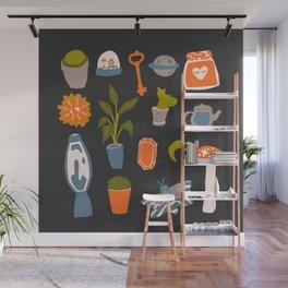 Minimalist Teenage Bedroom Flash Sheet Wall Mural