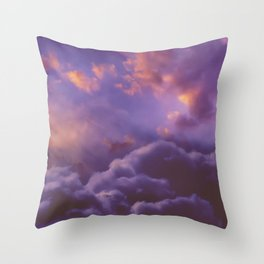 Memories of Thunder Throw Pillow