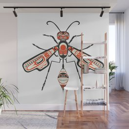 The Wasp Wall Mural