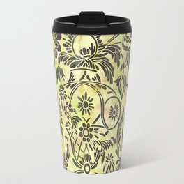 Watercolor Damask Pattern 03 Travel Mug