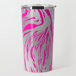 Marbled Fuchsia Travel Mug
