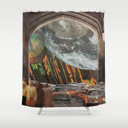 We're All Just Passing Through Shower Curtain