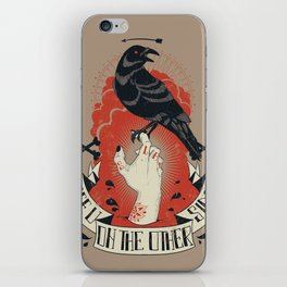See you on the other side iPhone Skin
