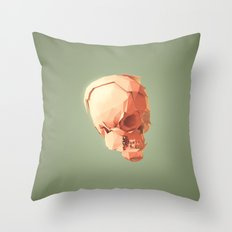 Skull Le Fort Throw Pillow