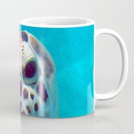 Watercolor Turtle, Green Turtle 14, St John, USVI Coffee Mug