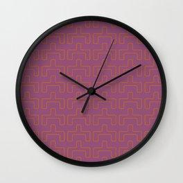 Afro Pop Art Retro Print Wall Clock