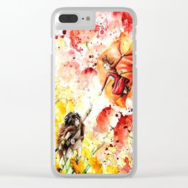 """""""Catch my hand"""" Clear iPhone Case"""